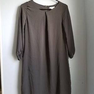 NWT H&M Gray Cocktail Dress